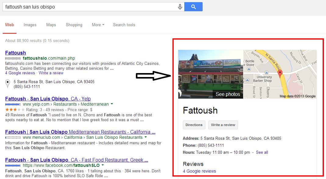 fattoush san luis obispo   Google Search